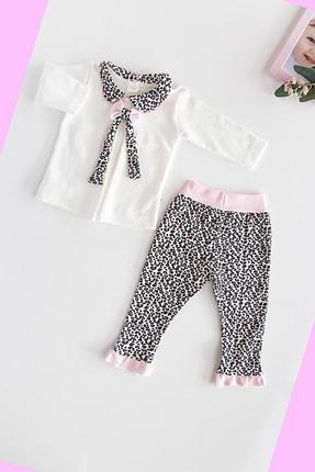Babymod Layette Leopar Desenli Kız Bebek Takım 0