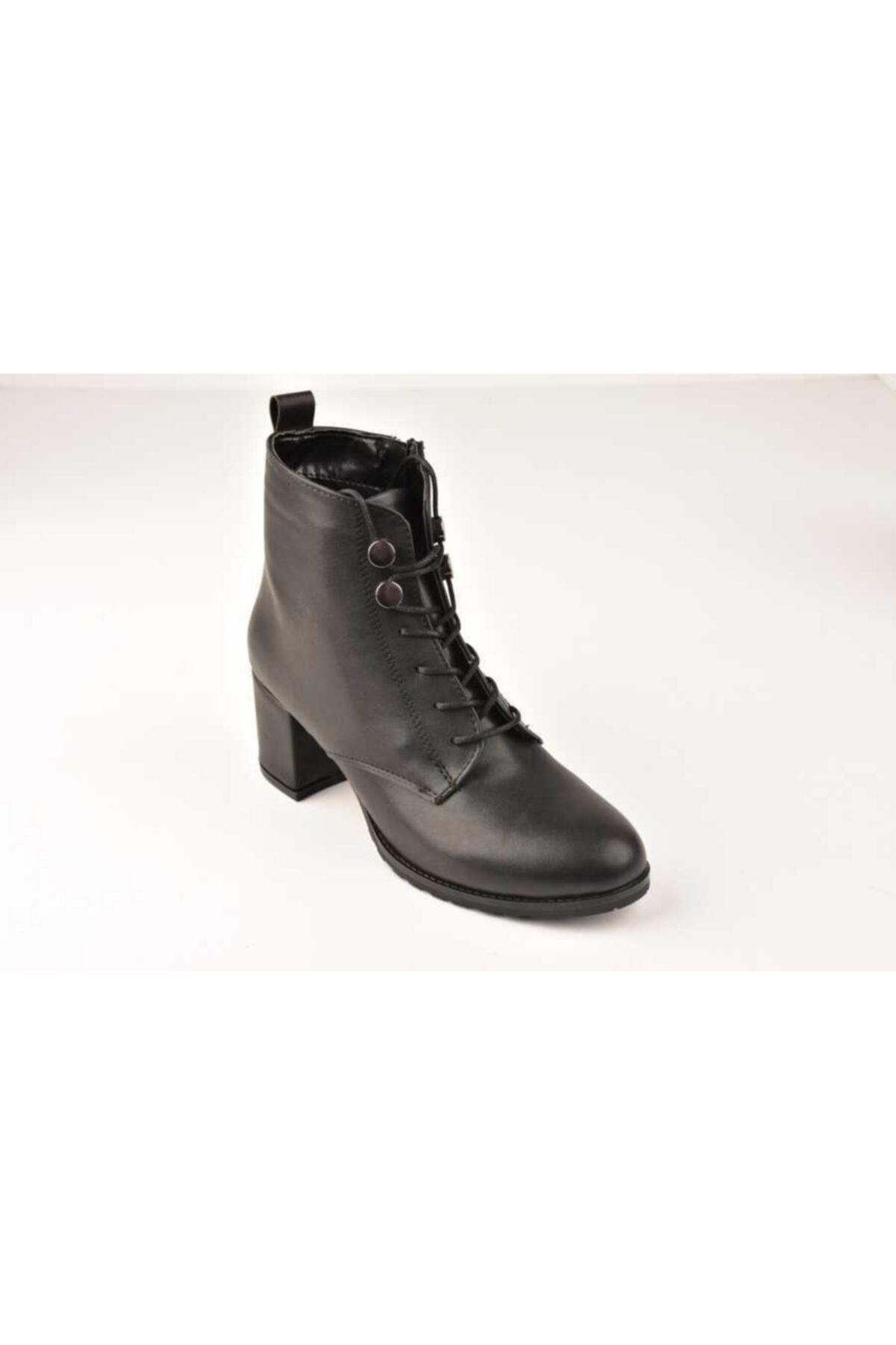 SWELLSOFT Kadın Siyah Swell Soft Cilt Bot Ayakkabı 1720-20k