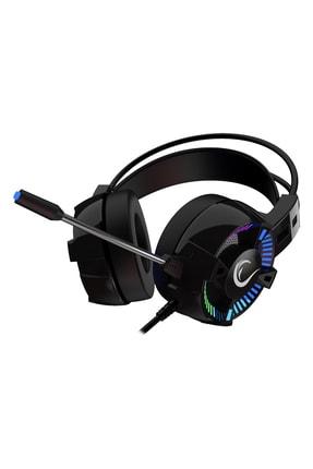 Rampage Styles Siyah Usb 7.1 Rgb Oyuncu Mikrofonlu Kulaklık 2