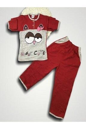 Cebeli Tarık Kız Çocuk Interlok Kumaş Tarık Pijama Takımı 0