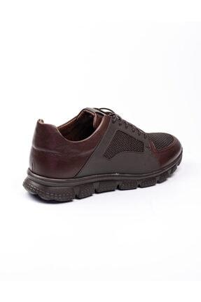 Libero 3599 Faylon Kahverengi Deri Erkek Günlük Ayakkab Kahverengi-42 3