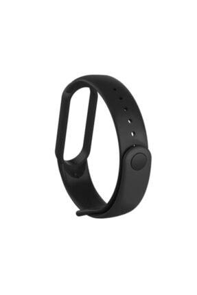 ucuzmi Xiaomi Mi Band 5 Akıllı Bileklik Kordon Kayış 3m Silikon Siyah Renk 1