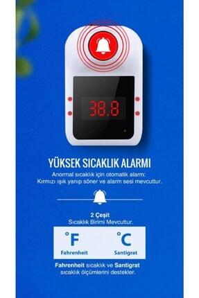 JUNGLEE Temassız Ateş Ölçer Okul Cafe Restoran Toplu Taşıma Fabrika Için Otomatik Dijital Termometre Hgb02 1