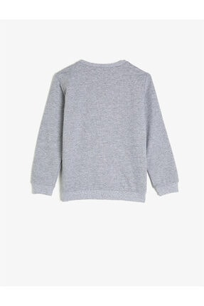 Koton Gri Kız Çocuk Sweatshirt 1