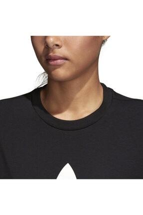 adidas Kadın Siyah Originals T-shirt - Trefoil Tee - CV9888 3