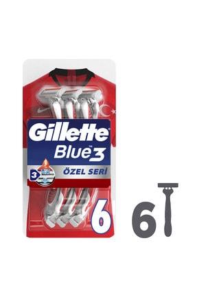 Gillette Blue3 Pride Kullan At Tıraş Bıçağı 6'lı 0