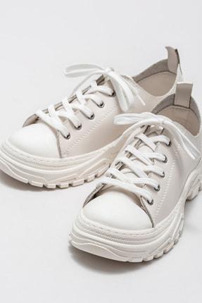Elle Kadın Kıere Bej Sneaker 20KAD310 2