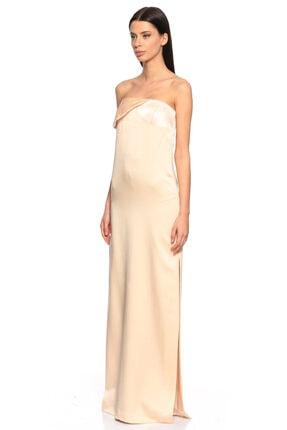 Lanvin Kadın Pudra Straplez Gece Elbisesi 1