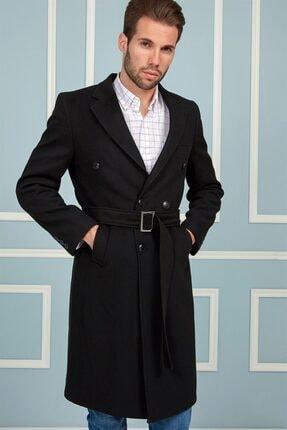 Dewberry Plt8382 Erkek Palto-siyah 0