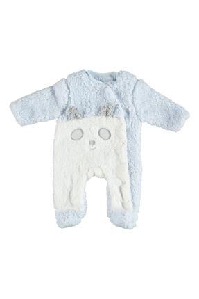 Erkek Bebek Mavi Panda Tulum resmi