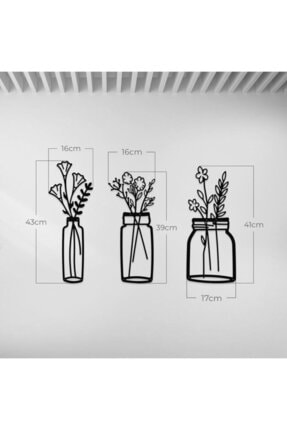 Steel Up Flowers In Vases 0