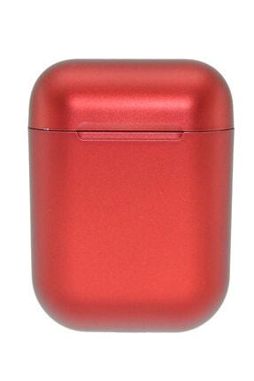 GLR Huawei P30 Lite Uyumlu I12 Tws Kırmızı Kablosuz Kulaklık 2