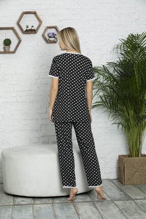 MyBen Kadın Siyah Pijama Takımı 70004 3