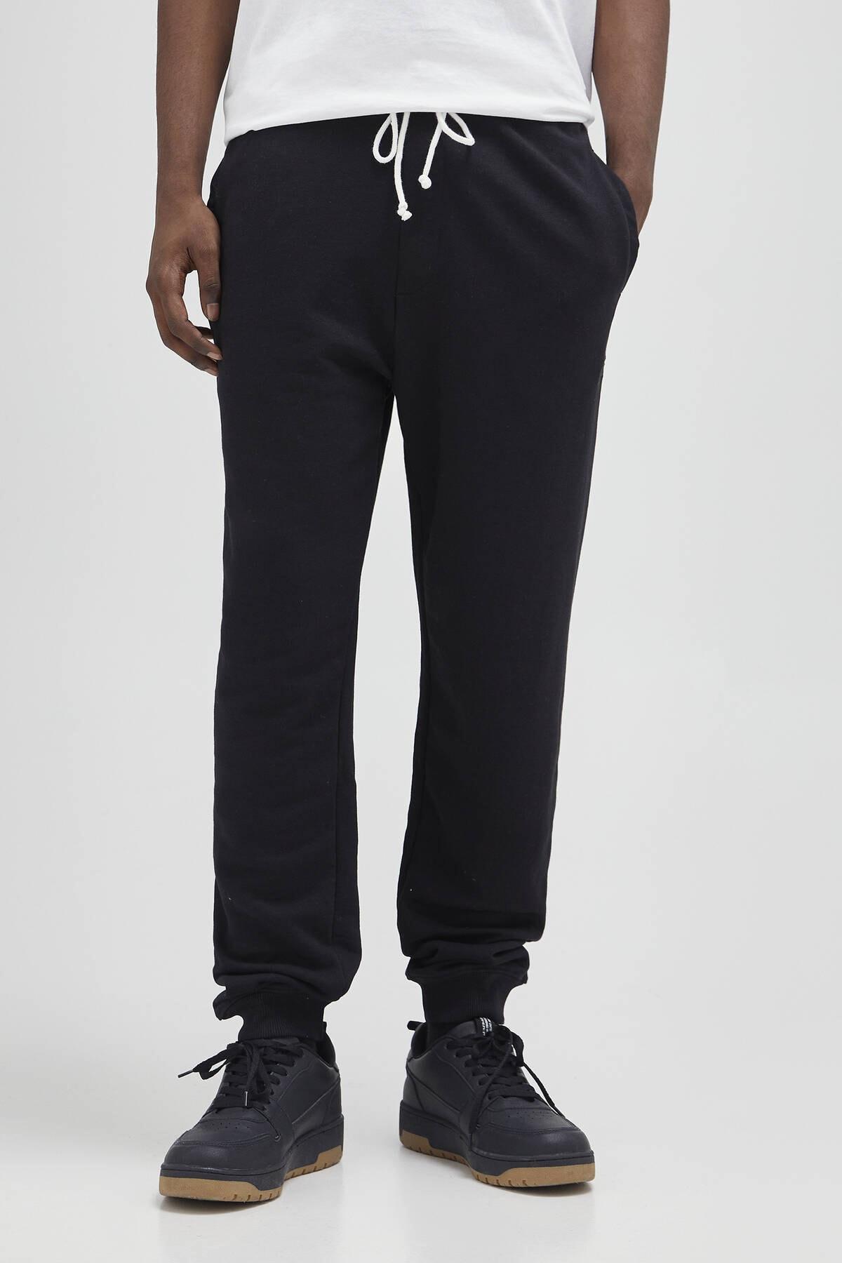 Pull & Bear Erkek Siyah Renkli Jogging Fit Pantolon 04676513 1