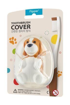 Flipper Hıjyenık Diş Fırçası Saklama Kabı - Köpek Figürlü 0
