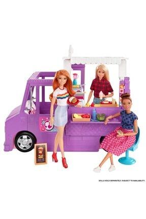 Barbie 'nin Yemek Arabası Gmw07 3