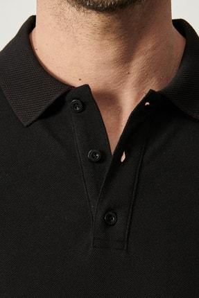 Altınyıldız Classics Polo Yaka Cepsiz Slim Fit Dar Kesim %100 Koton Düz Tişört 2