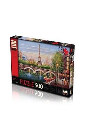 11378 Puzzle 500/seınerıver Paris Puzzle 500 Parça 798697418016789