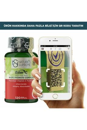 Natures Supreme Ester-c 500 Mg C Vitamini 120 Kapsül 1