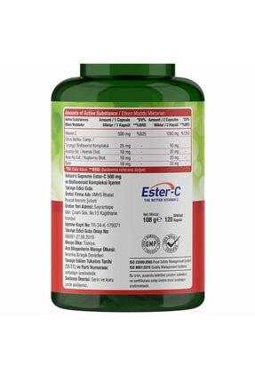 Natures Supreme Ester-c 500 Mg C Vitamini 120 Kapsül 2