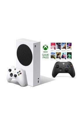 Microsoft Xbox Series S 512GB SSD Oyun Konsol + 1 Kol Siyah + 1 Yıl Live Gold + GamePass 0