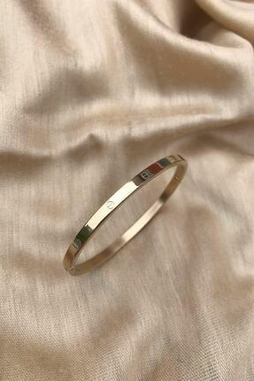 316l Çelik Altın Rengi Bileklik C002