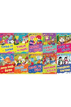 Timaş Çocuk Mini Masallar 3 10 Kitap Takım 0