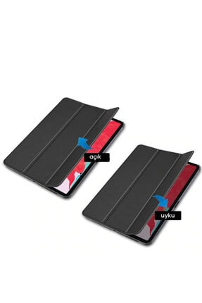 Huawei Matepad T10 T10s Kılıf Standlı Uyku Modlu Akıllı Wowlett Tablet Kılıfı Ve Nano Ekran Koruyucu 2