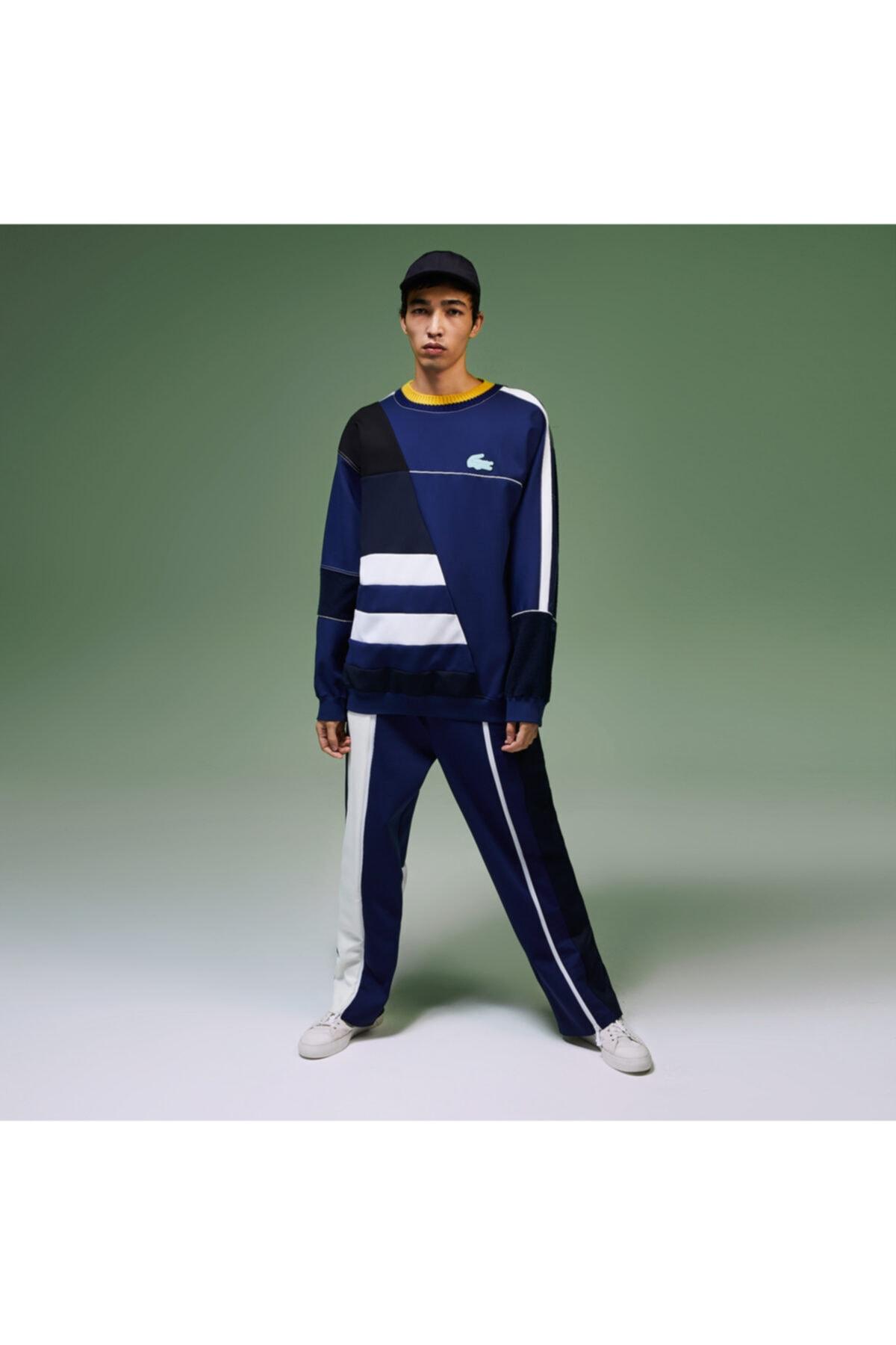 Unisex Lacivert Fashion Show Eşofman Altı