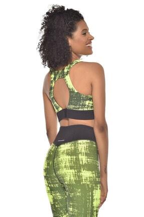 bilcee Neon Yeşil Kadın Sporcu Sütyeni-bra Gw-9227 1