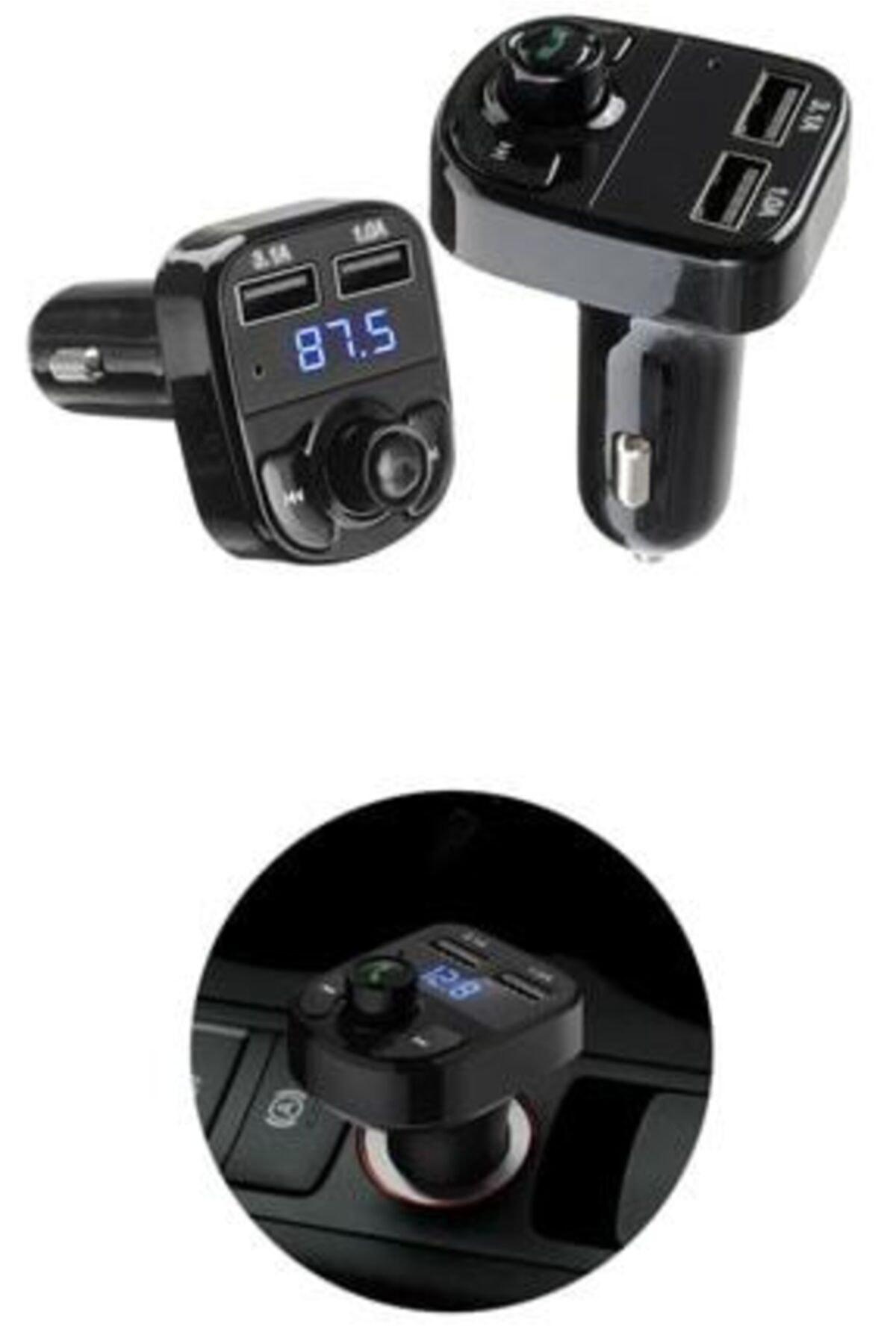 All Avcill Araç Fm Bluetooth Usb Mp3  Kablosuz Çakmaklık Girişli Oto Müzik Çalar