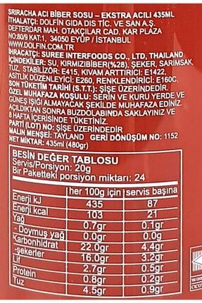 Suree Sriracha Acı Biber Sosu Hot Chilli Sos 435 Ml 3