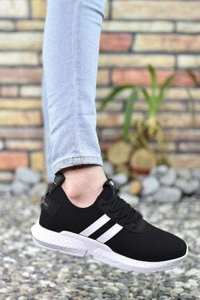 Riccon Siyah Beyaz Erkek Sneaker 00122051 1