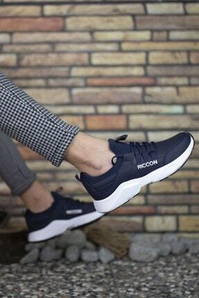 Riccon Unisex Lacivert Beyaz1 Cilt Unisex Sneaker 0012072 2
