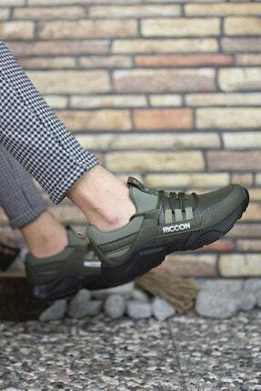 Riccon Unisex Haki Cilt Sneaker 0012072 3