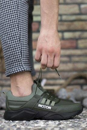 Riccon Unisex Haki Cilt Sneaker 0012072 4