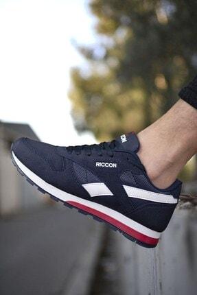 Riccon Lacivert Unisex Cilt Sneaker 0012853 0