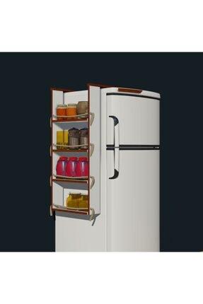 Fokai Wood Buzdolabı Yanı Rafı 0