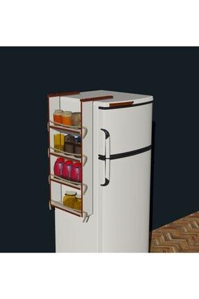 Fokai Wood Buzdolabı Yanı Rafı 1