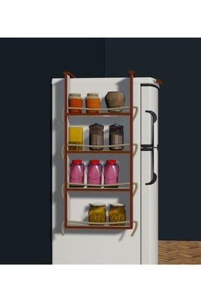 Fokai Wood Buzdolabı Yanı Rafı 2