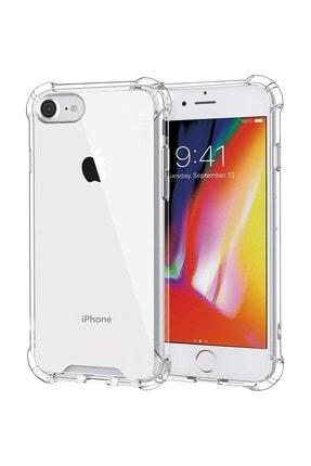 sepetzy Apple Iphone Se 2020 Kılıf Köşe Korumalı Antishock Airbag Şeffaf Kapak 0