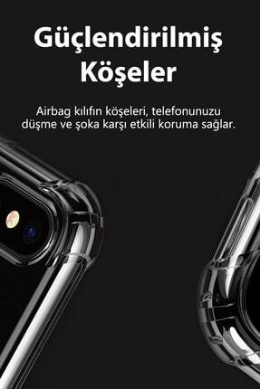 sepetzy Apple Iphone Se 2020 Kılıf Köşe Korumalı Antishock Airbag Şeffaf Kapak 3