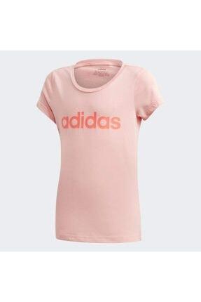 adidas YG E LIN TEE Pembe Kız Çocuk T-Shirt 101069152 0