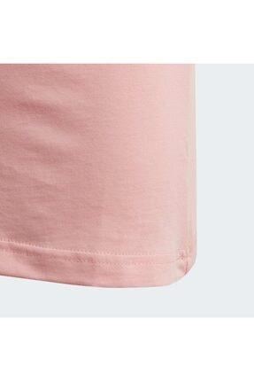 adidas YG E LIN TEE Pembe Kız Çocuk T-Shirt 101069152 4