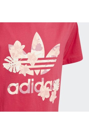 adidas Çocuk Pembe Orginals Logo T-Shirt 1