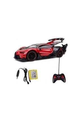 Erdem Oyuncak Uzaktan Kumandalı Araba Kapıları Açılan Şarjlı Bugatti 1/12 Ölçek 0