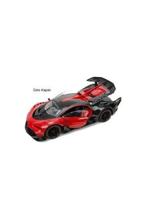 Erdem Oyuncak Uzaktan Kumandalı Araba Kapıları Açılan Şarjlı Bugatti 1/12 Ölçek 2