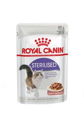 Royal Canin Gravy Sterilised Kısırlaştırılmış Yaş Kedi Maması 85 Gr 0