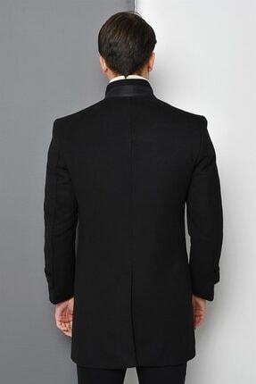 Dewberry Erkek Siyah Palto 1020001P8391 3