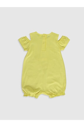 LC Waikiki Kız Bebek Sarı P6W Tulum 1